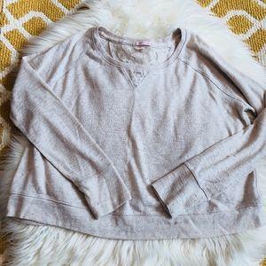 Cream Victoria's Secret Long Sleeve Sweater size M